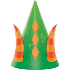 Hats - Dragon Party-8pk