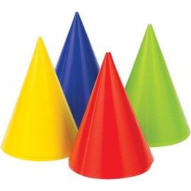 Hat - Mini Cone Multi Colour (8PK)