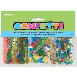 Confetti- Assorted Colour Congratulations- 34g
