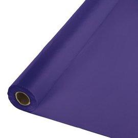 Table Roll-Purple-100ft-Plastic