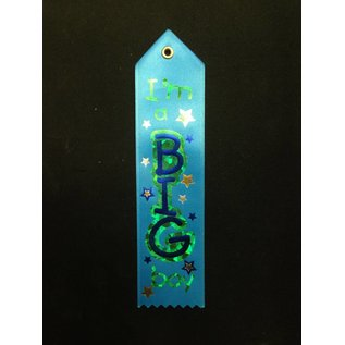 Award Ribbon-I'm a Big Boy- 8.25''