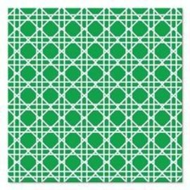 Napkins-BEV-Cane Emerald Green-24pkg-3ply