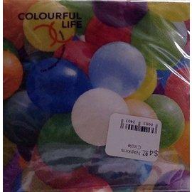 Napkins-BEV-Birthday Balloons-20pkg-3ply- Discontinued