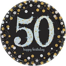 Plates-BEV-Sparkling Celebration 50-8pk