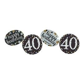 Confetti - Sparkling Celebration-40th Birthday-1.2oz