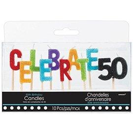 Candles-Pick-Celebrations 50-10pk