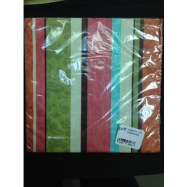 Napkins-LN-Decor Stripe-16pk-2Ply (Discontinued)