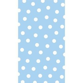 Napkins-Guest Towels-Blue Polka Dots-16pk-2Ply (Discontinued)