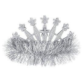 Tiara-Star-Fringe-Silver-Plastic (1pk)