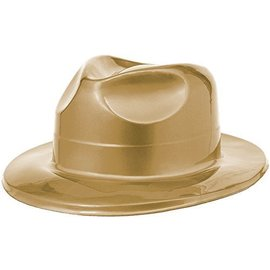 Hat-Fedora-Gold-Plastic