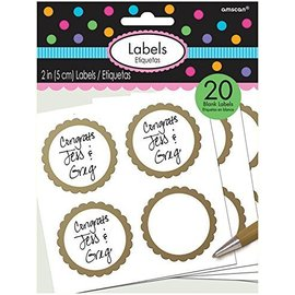 Labels-Scalloped-Gold-20pk/2''