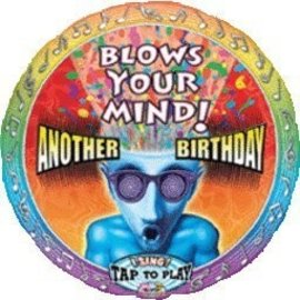 """Foil Balloon - Another Birthday Blows Your Mind - 28"""""""