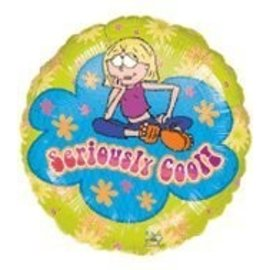 Foil Balloon - Lizzie Mcguire Seriously Cool - 18""