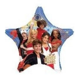 Foil Balloon - High School Musical - 19""