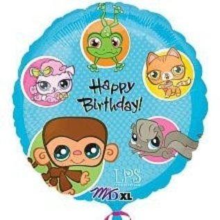 "Foil Balloon - Littlest Pet Shop Birthday - 18"""