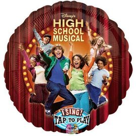 Foil Balloon - Singing - High School Musical - 28""