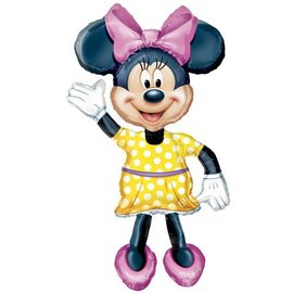 "Foil Balloon - Airwalker - Minnie Mouse Bow-Tique - 38""x54"""
