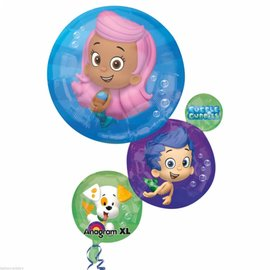 "Foil Balloon - Bubble Guppies - 22""x28"""