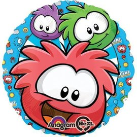 Foil Balloon - Club Penguin Puffles - 18""