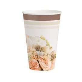 Cup-Rose Gold Bouquet (8pk) (12oz) - Discontinued