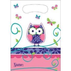 Loot Bags-Owl Pal Birthday (8pk)