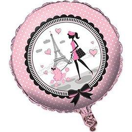 """Foil Balloon - Party in Paris - 18"""""""
