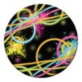 Plates LN-Glow Party (8pk) - Discontinued