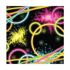 Napkins BEV-Glow Party (18pk) - Discontinued