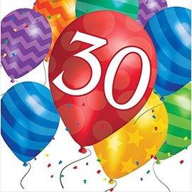 Napkins LN-30 Balloon Blast-16pk-2ply