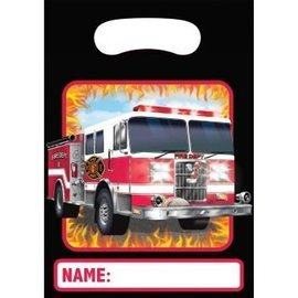 Loot Bags-Fire Watch-6.5''x9''-8pk