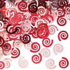 Confetti-Classic Red Swirls-0.5oz