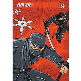Loot Bags -Ninja-6.5''x10''-8pk