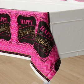 Tablecover-Rectangle-Born to be Fabulous-Plastic - Discontinued