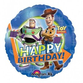 Foil Balloon - Toy Story Happy Birthday - 18""
