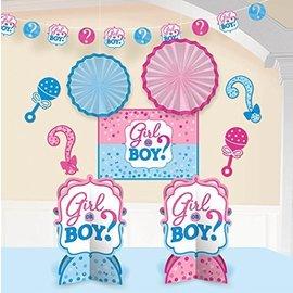 Decorating Kit - Gender Reveal