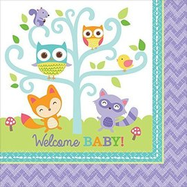 Napkins LN - Woodland Welcome - 16pcs - 2ply