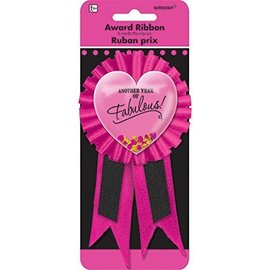 """Award Ribbon - """"Another Year of Fabulous - Confetti Pouch"""