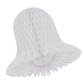 "Honeycomb White Bells - 15"""