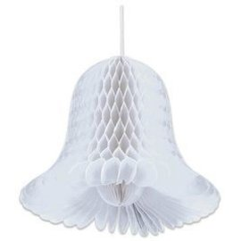 "Bridal White Bells - 2pc - 9"""