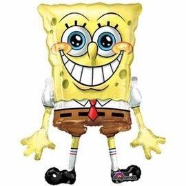 "Foil Balloon - Airwalker - Spongebob - 46"""