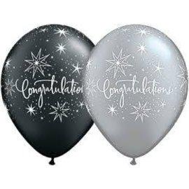 """Latex Balloon-Congratulations Elegant Assortment-1pkg-11"""""""