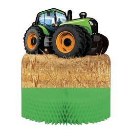 Tractor Time-Centerpiece 1pk