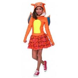 Charizard Costume Girls Large