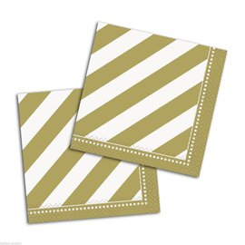 Napkins-BEV- Golden Birthday-16pk-2ply