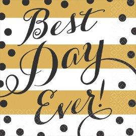 Napkins Bev-Best Day Ever