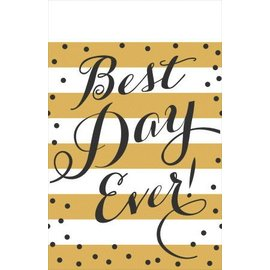 Tablecover-Best Day Ever-54''x102''-Plastic