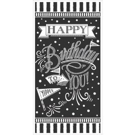 Banner- Happy Birthday Chalkboard