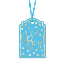 Tags - It's a Boy-2x3''-25pk