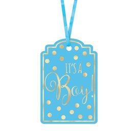 Tags - It's a Boy-2x3''-25pk