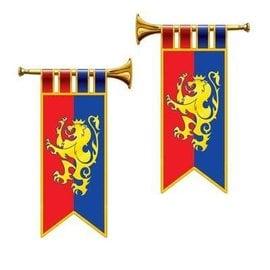 """Cutouts-Medieval Herald Trumper-2pkg-17.5"""""""